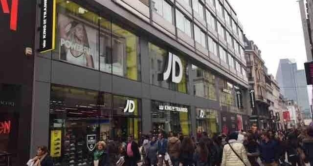 JD Sports opent flagship store in Brussel