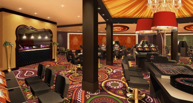 Kolsteren Projekten bouwt interieur (tijdelijk) casino Middelkerke (BE)
